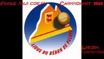 Finale Corta Béarn - Pau 1 (Bécaas-Serbielle) contre Pau 4 (Hourçourigaray-Pinzio)