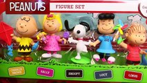 GIANT Surprise Toys Dog House THE PEANUTS MOVIE Snoopy & Charlie Brown Playsets DisneyCarT