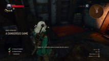 The Witcher 3: Wild Hunt A DANGEROUS GAME find zeds ledger using your witcher senses