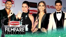 (VIDEO) Filmfare Pre Awards Bash 2016   Ranveer Singh, Anushka Sharma, Sonam Kapoor