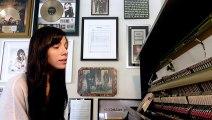 christina perri sings -cant help falling in love- (cover)