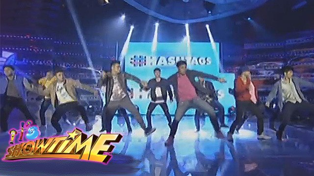 "It's Showtime: Hashtags perform ""The Water Dance"""
