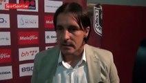 Dženan Uščuplić nakon utakmice protiv Drine