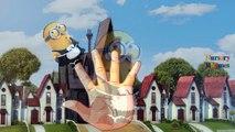 Finger Family Rhymes Minions Bananas Cartoons | Super Mario Finger Family Children Nursery Rhymes