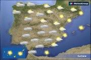 Previsión del tiempo para este lunes 11 de enero