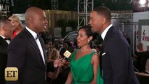 Will Smith and Jada Pinkett Smith Adorably Pack on PDA at Golden Globes