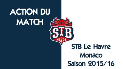 Action du match STB - MONACO : Lawrence Hill