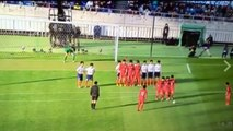 Japanese high school team bamboozle opponents with a sublime free-kick routine