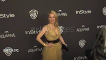 Gillian Anderson super sexy- Golden Globes 2016