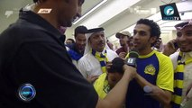 تصريح عبدالله العنزي لاعب نادي النصر بعد نهائي الدوري السعودي الممتاز