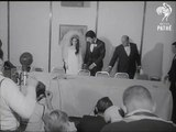 De très rares images du mariage d'Elvis et Priscilla Presley ont été découvertes...