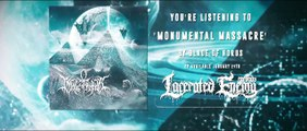 BLADE OF HORUS - Monumental Massacre - Official Lyric Video - LACERATED ENEMY records 2016