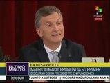 Mauricio Macri convoca a los argentinos a aprender el arte del acuerdo