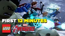 First 12 Minutes of Lego Marvel's Avengers Gameplay