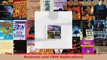 Read  The Essential Guide to Knowledge Management EBusiness and CRM Applications Ebook Free