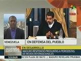 Maduro pide al chavismo unirse y defender logros de la Revolución