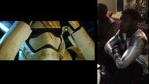 """Qand Daisy Ridley et John Boyega découvrait la bande-annonce du """"Réveil de la Force"""""""