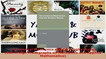 Download  Geometrical Mechanics and De Broglie Waves Cambridge Monographs on Mechanics and Applied Ebook Free