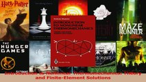 Download  Introduction to Nonlinear Thermomechanics Theory and FiniteElement Solutions Ebook Online
