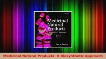Read  Medicinal Natural Products A Biosynthetic Approach EBooks Online