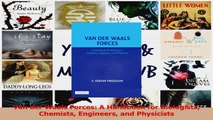 Download  Van der Waals Forces A Handbook for Biologists Chemists Engineers and Physicists PDF Online