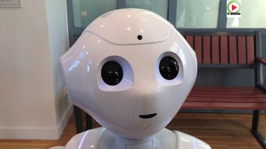Nort-sur-Erdre: Pepper le robot SNCF - Bretagne Télé