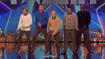 Can Old Men Grooving teach Stavros some new tricks? | Britains Got Talent 2015
