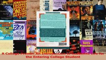 HOT SALE  A College Primer An Introduction to Academic Life for the Entering College Student