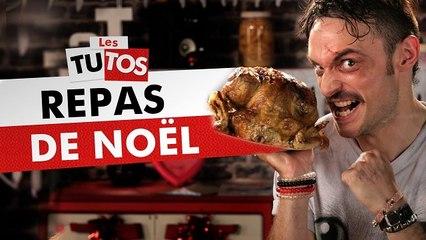 TUTO REPAS DE NOEL