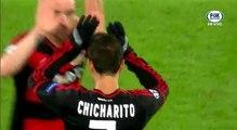 Bayer Leverkusen vs Barcelona 1-1 Goal Chicharito Hernandez Champions League 2015