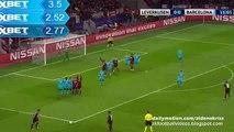 Leverkusen Chance - Leverkusen v. Barcelona 09.12.2015 HD
