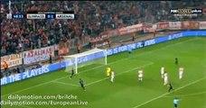 Olivier Giroud Goal Olympiakos 0 - 2 Arsenal (Champions League) 2015