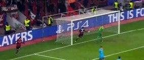 Bayer Leverkusen 1-1 Barcelona : Javier Hernández goal