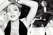 Lindsay Lohan accidentally flashes in behind the scenes video for sexy new photoshoot
