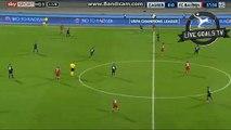Robert Lewandowski Amazing Shot Chance - Dinamo Zagreb vs Bayern - Champions League - 09.12.2015