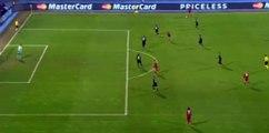 Robert Lewandowski Goal - D. Zagreb 0 - 1 Bayern Munich - 09_12_2015
