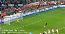 Olivier Giroud Fantastic 3rd Goal Olympiakos 0 - 3 Arsenal (UCL) 2015