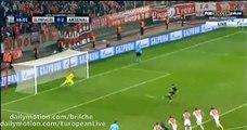Olivier Giroud PENALTY Goal Olympiakos 0 - 3 Arsenal (UCL) 2015