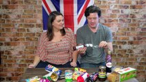 British Foods Taste Test | Super Amazing Project