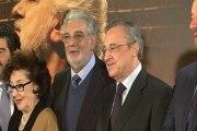 El Real Madrid homenajea a Plácido Domingo
