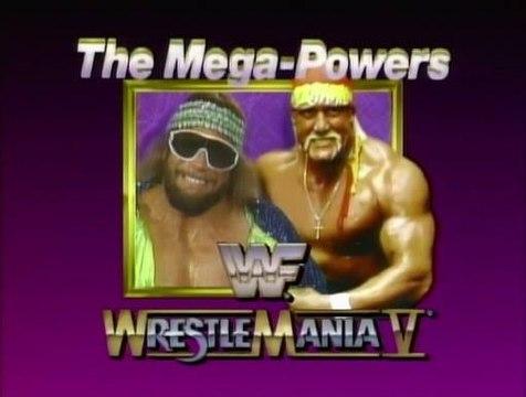 WWF Wrestlemania V - Randy Savage Vs. Hulk Hogan