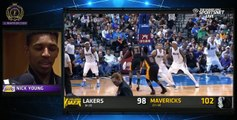 Nick Young (Swaggy P) Post game interview | Lakers vs Mavs
