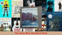 Read  The Boat Who Wouldnt Float Ebook Free