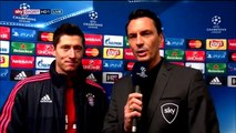 Robert Lewandowski – post-match interview - Dynamo Zagreb v Bayern München