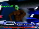 WWE SmackDown VS Raw 2009: Created Superstars - 14 - Steel Cage Match