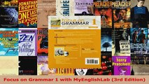 3rd Edition Focus on Grammar 1