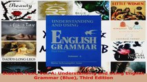 Read  Student Text Vol A Understanding and Using English Grammar Blue Third Edition Ebook Free