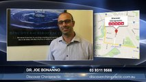 Discover Chiropractic is a chiropractor in Sunshine, Victoria 3020 – Dr. Joe Bonanno gives tips on how to find a Chiropractor