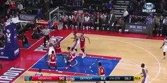 Matt Barnes Hits Game-Winner From Halfcourt vs Detroit Pistons (12.9.2015)