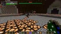 BUDDER GOLEM VS NAGA - Minecraft Mob Battles - Derpy Squid Mod & Chocolate Quest Mod